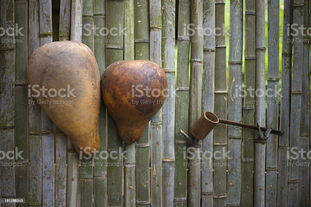 Chinese traditional Calabashes royalty-free stock photo