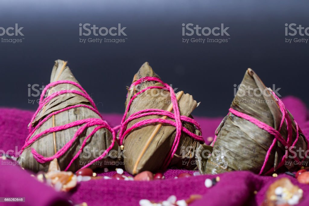 Chinese traditional food, delicious dumplings stock photo