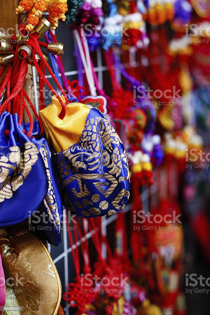 Chinese traditional fragrant bag stock photo