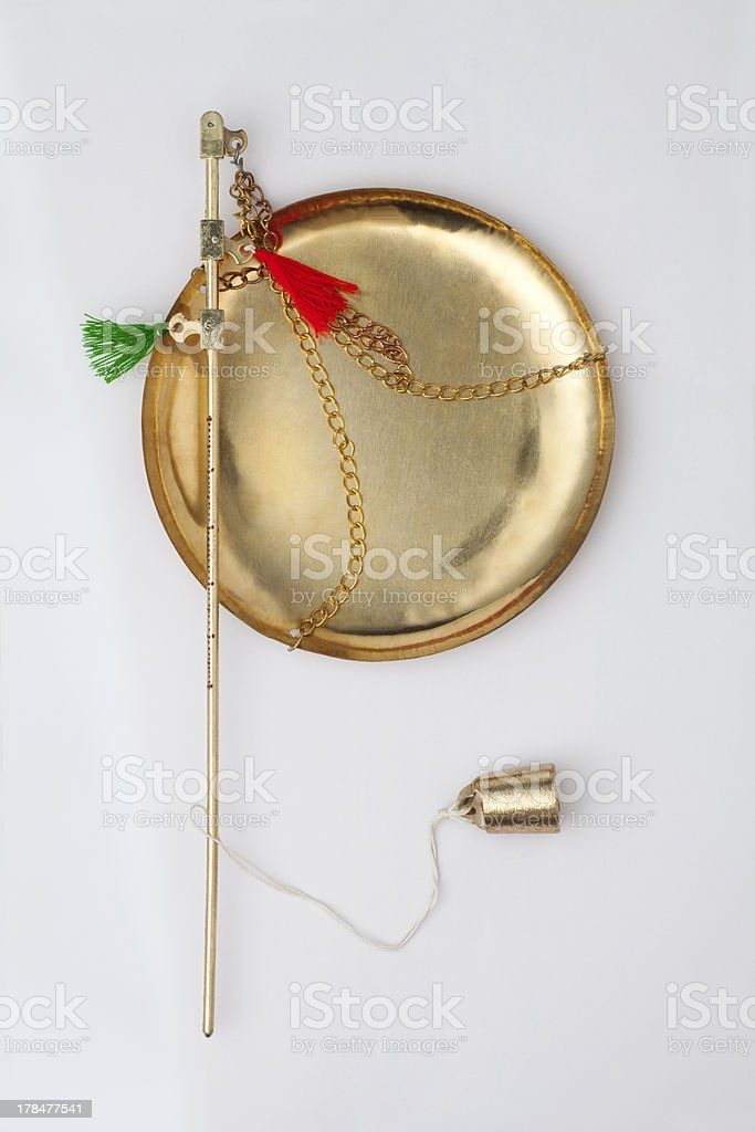 Chinese traditional steelyard royalty-free stock photo