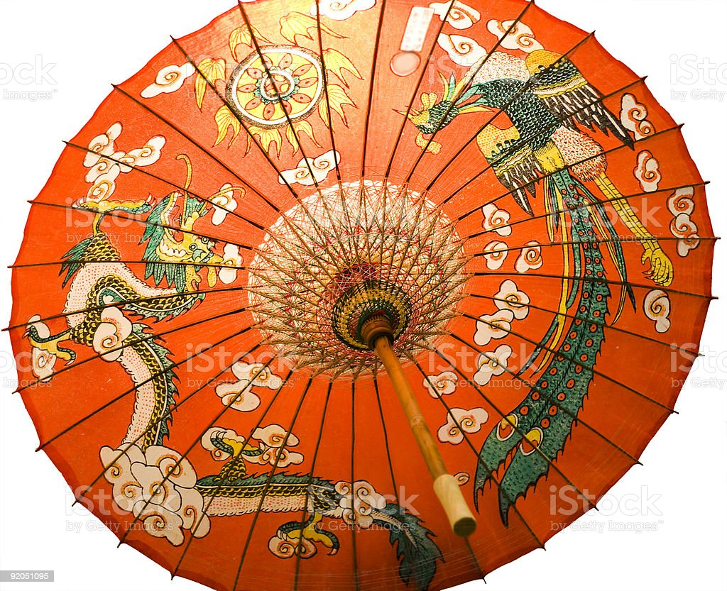 Chinese Umbrella royalty-free stock photo