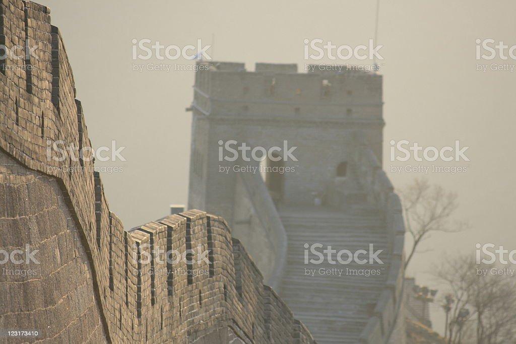 Chinese Wall royalty-free stock photo