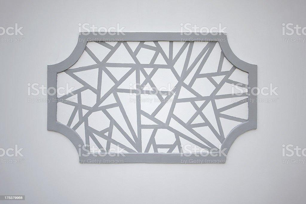 Chinese windows pattern stock photo