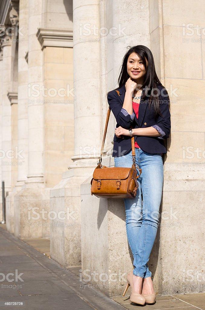 chinese woman royalty-free stock photo