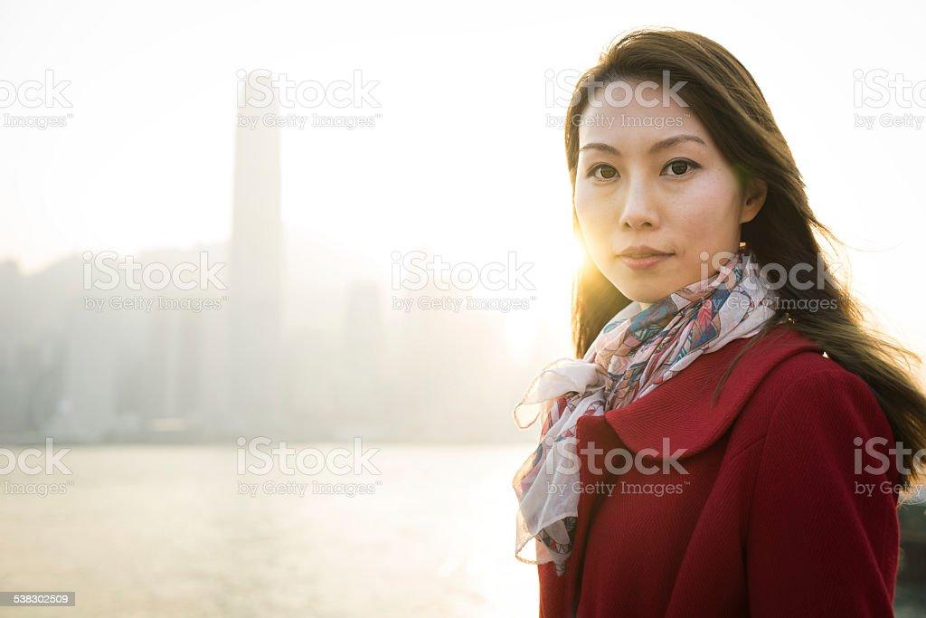 Chinese Woman Portrait stock photo