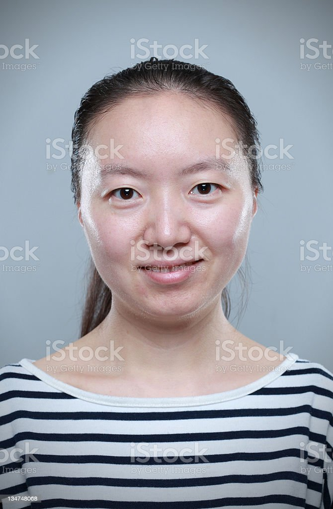 Chinese women royalty-free stock photo