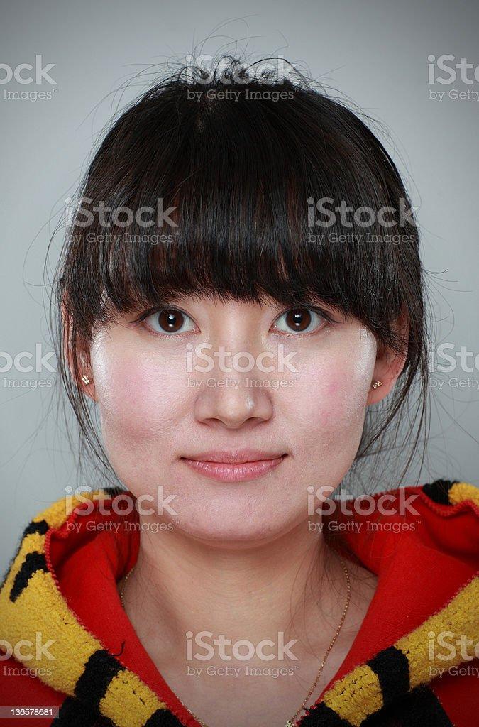 Chinese women royalty-free stock photo