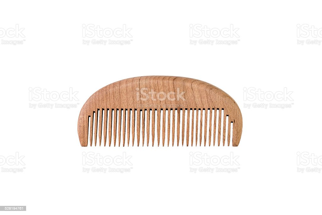 Chinese Wooden Comb stock photo