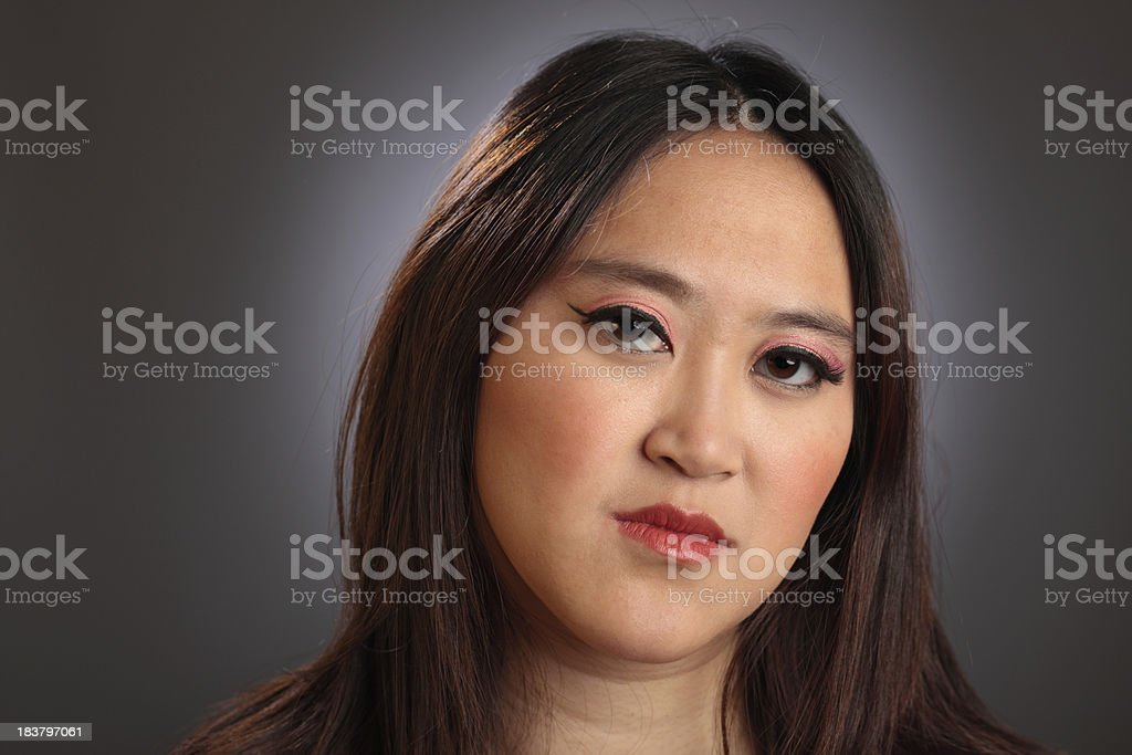 Chinese Young Woman stock photo