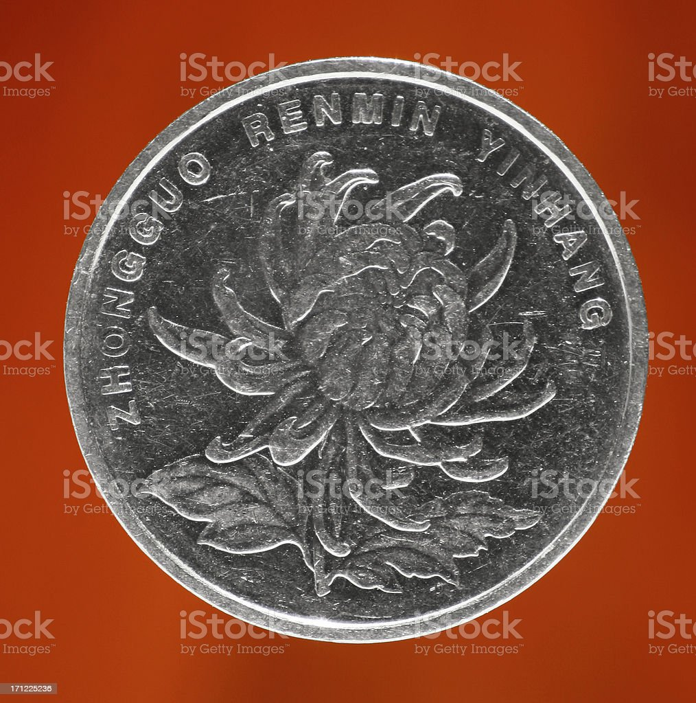Chinese Yuan royalty-free stock photo