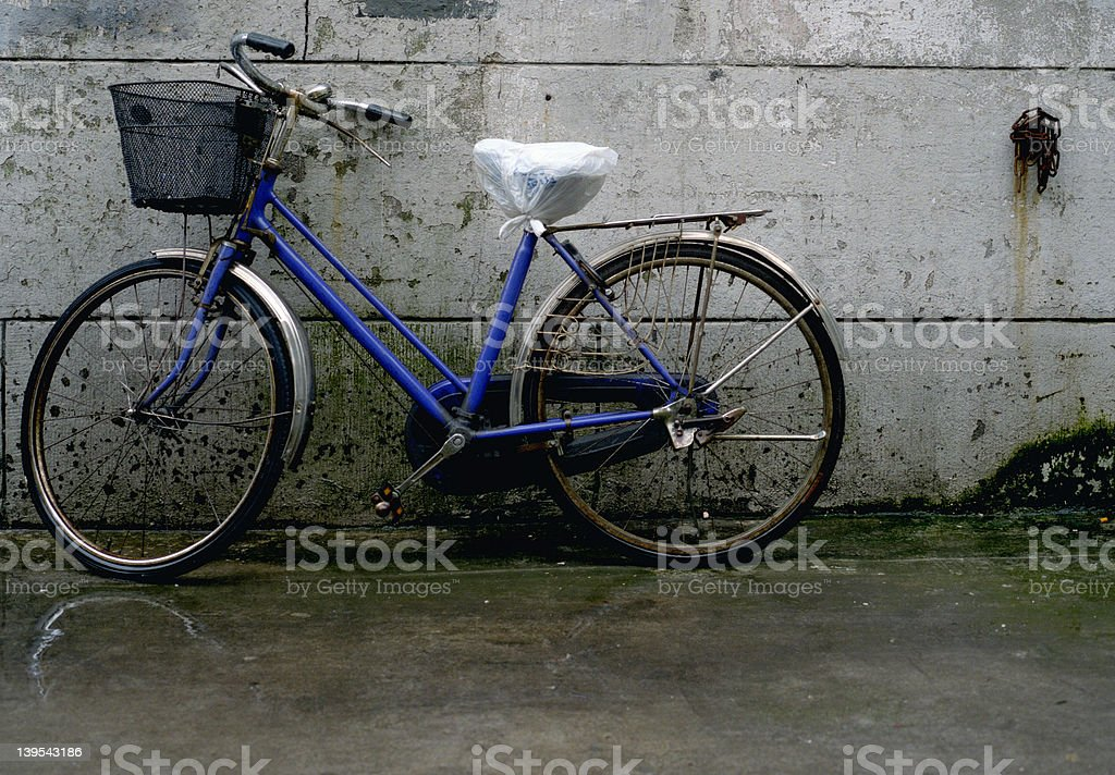 chinesebicycle royalty-free stock photo