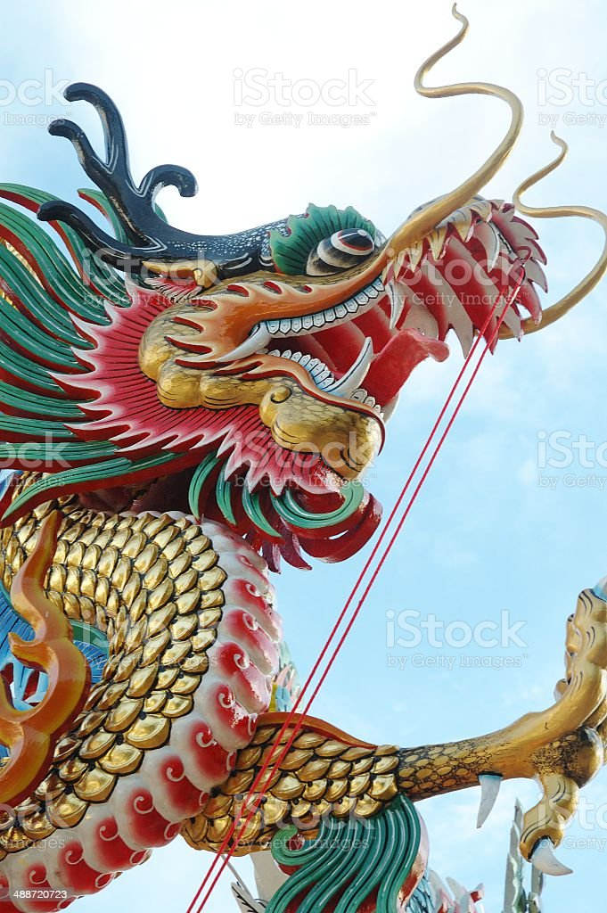 Chiness Dragon royalty-free stock photo