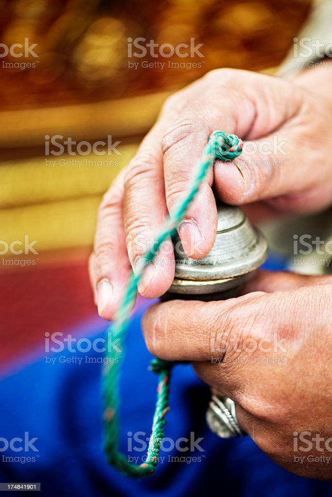 Ching - Traditional Thai Percussion royalty-free stock photo