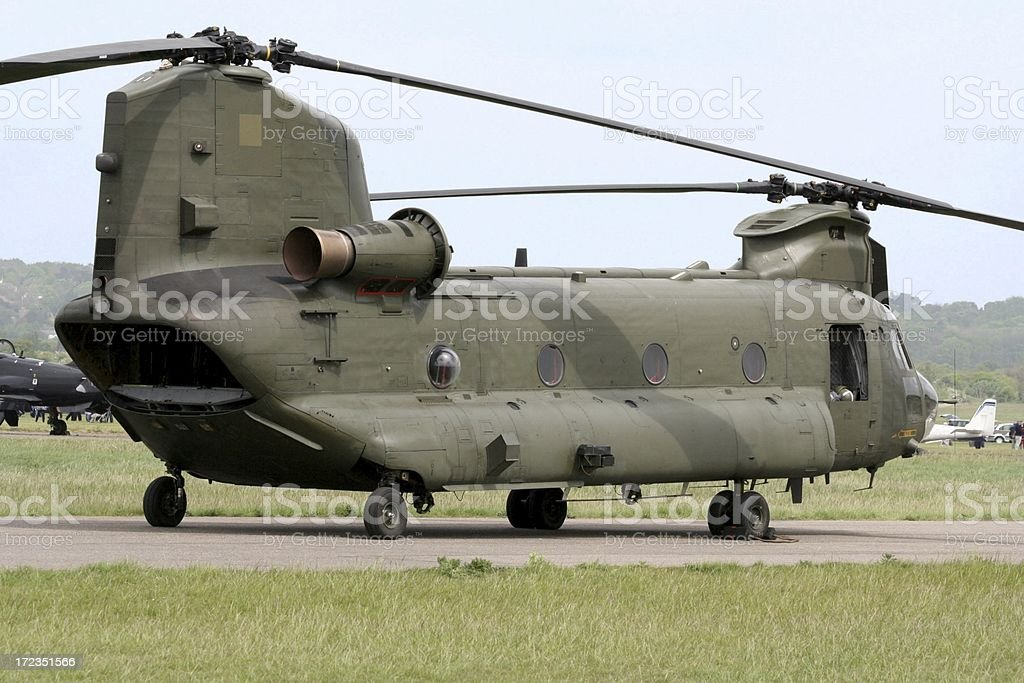 Chinook stock photo