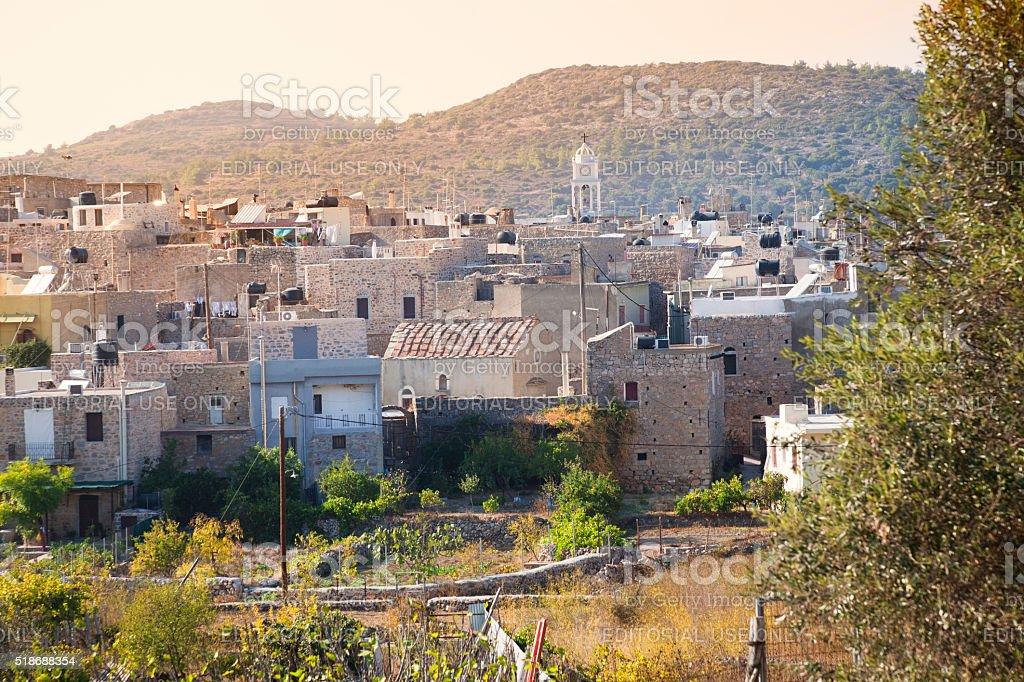 Chios island stock photo