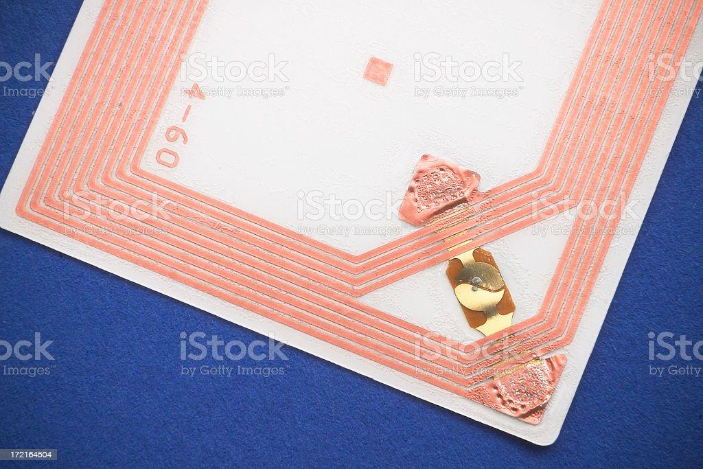 RFID Chip 1 royalty-free stock photo