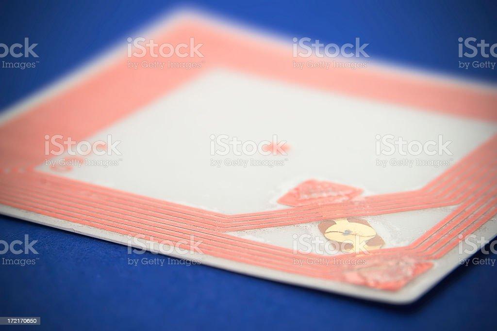 RFID Chip 2 stock photo