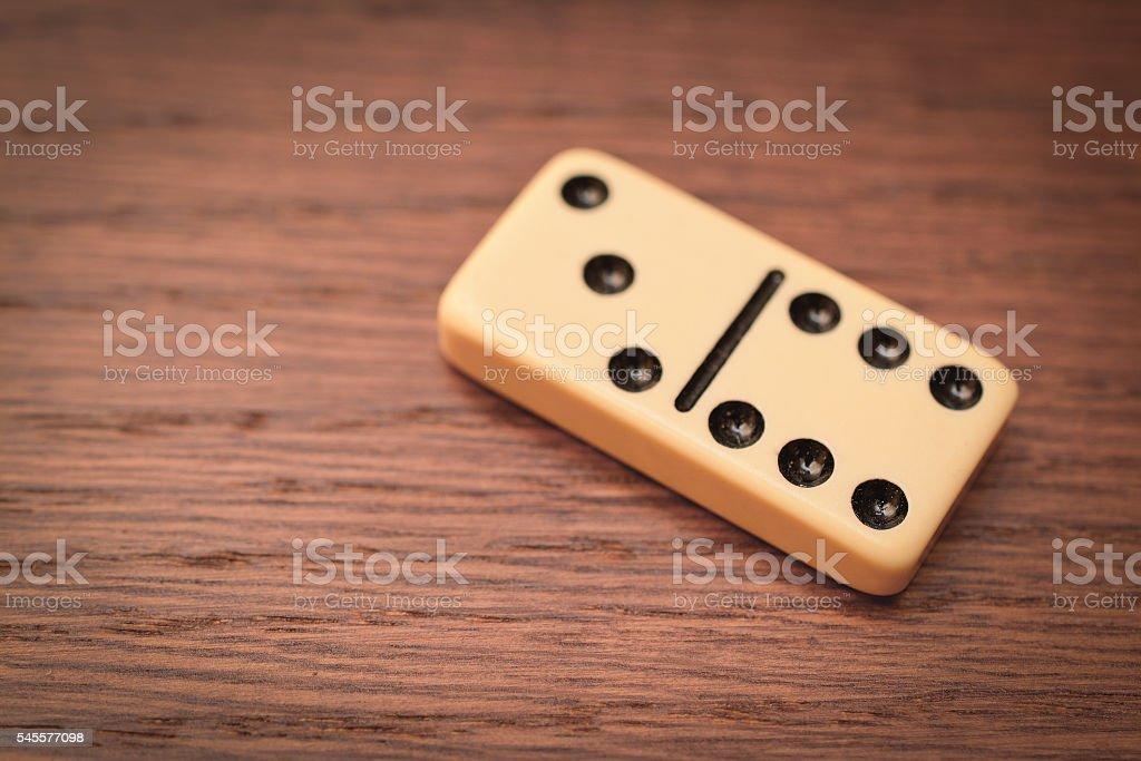 chip dominoes stock photo