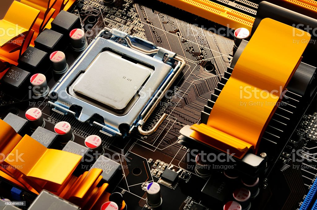 Chip royalty-free stock photo