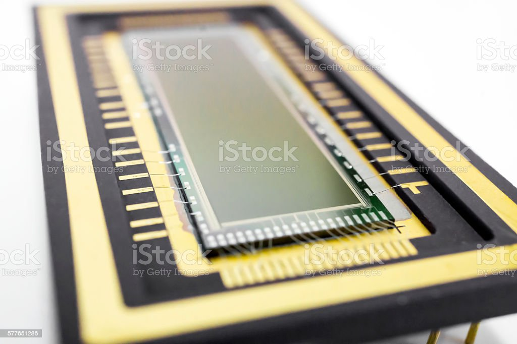 Chip stock photo