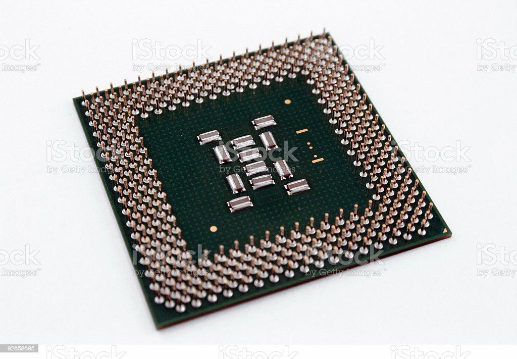 CPU Chip royalty-free stock photo