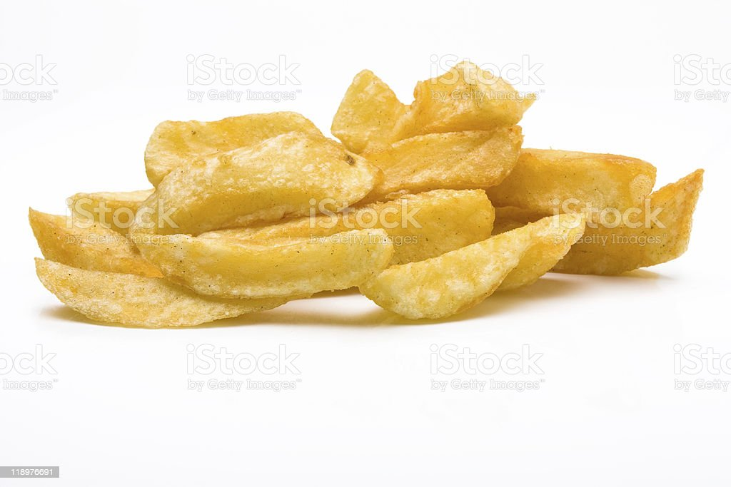 Chip shop chips royalty-free stock photo