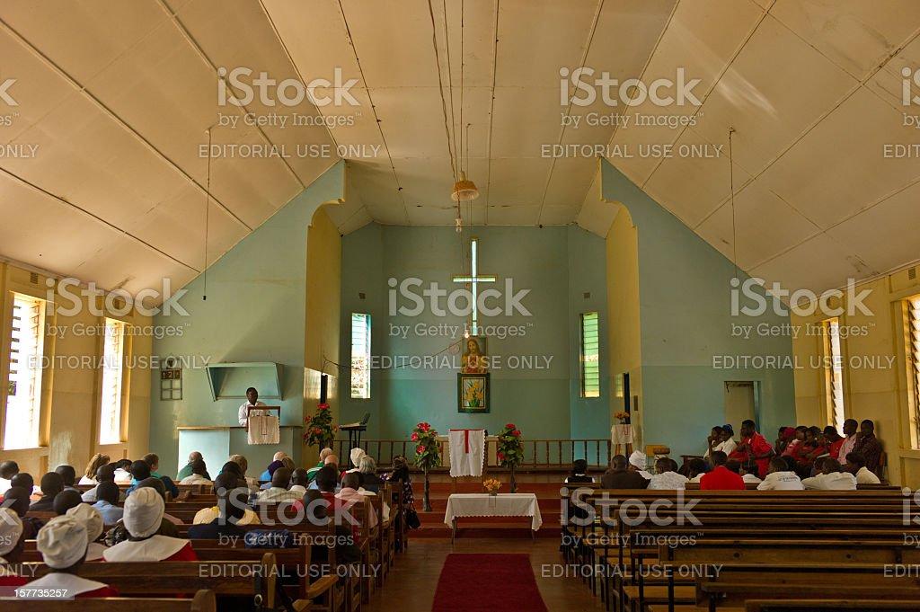 Chipembi United Church, Zambia stock photo