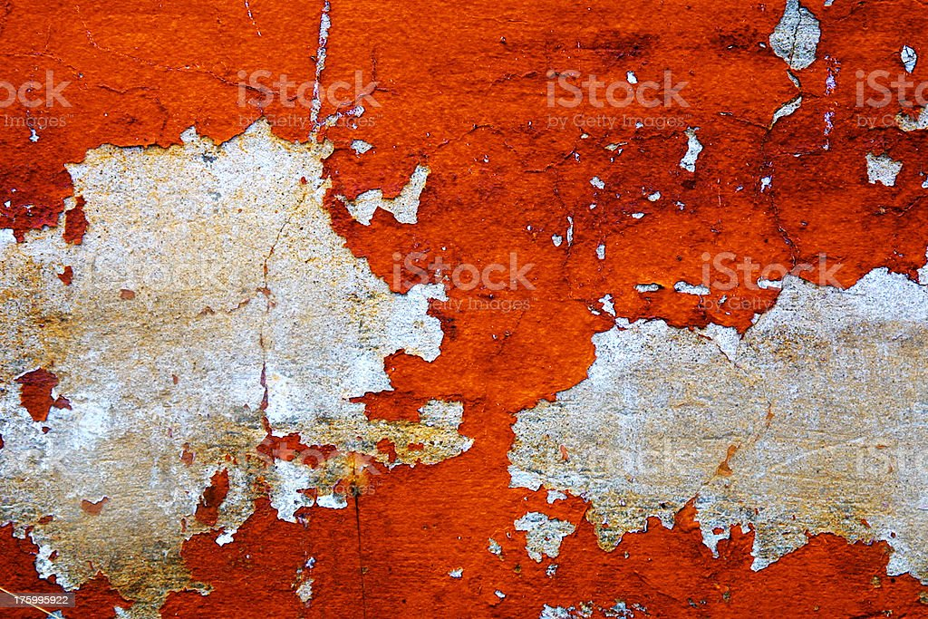 Chipped Paint royalty-free stock photo