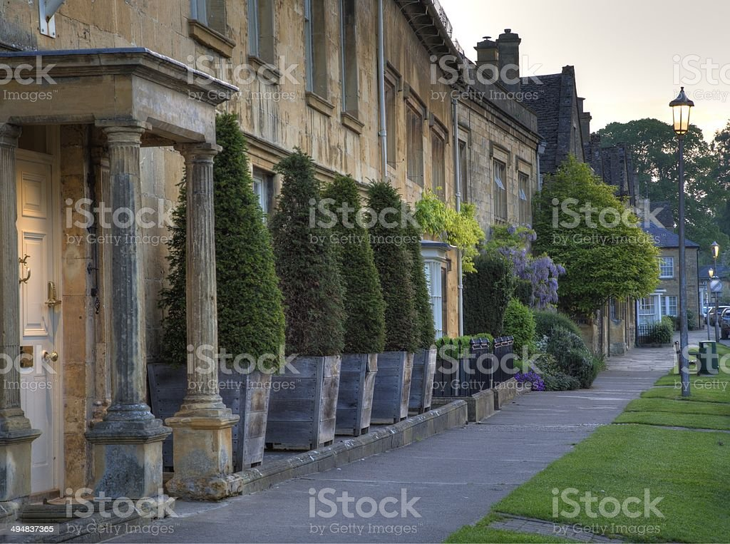 Chipping Campden, Cotswolds stock photo