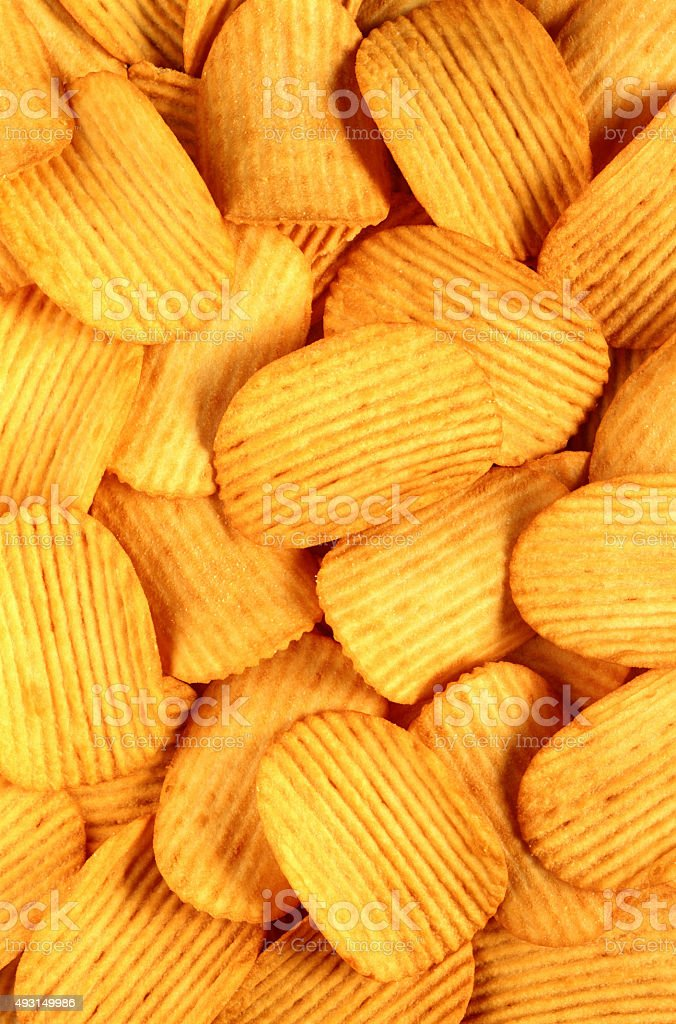 Chips texture stock photo