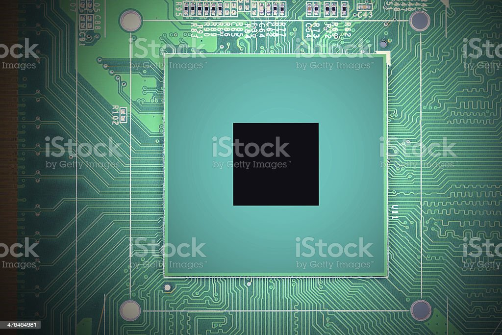 chipset royalty-free stock photo