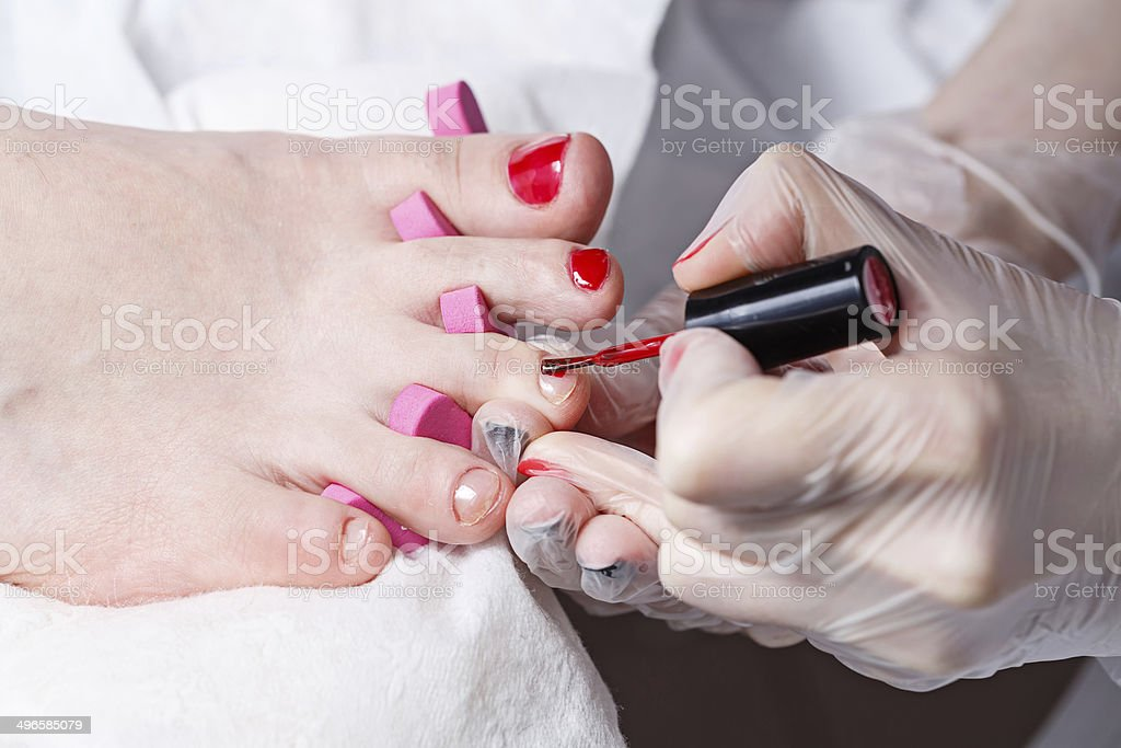 Chiropody royalty-free stock photo