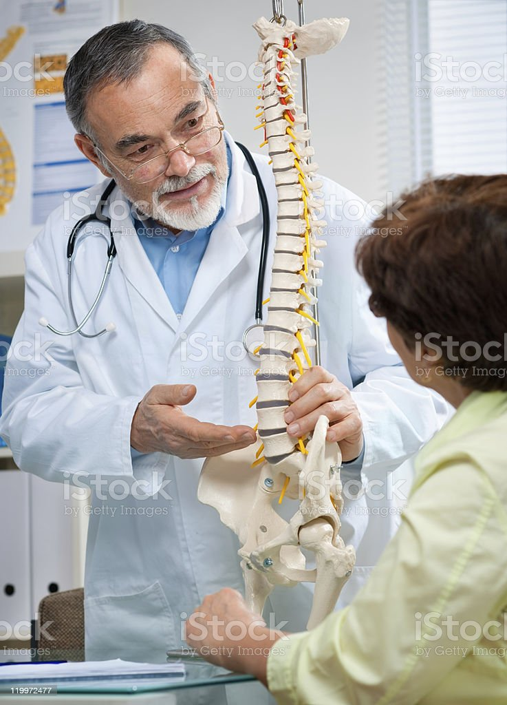 chiropractic royalty-free stock photo