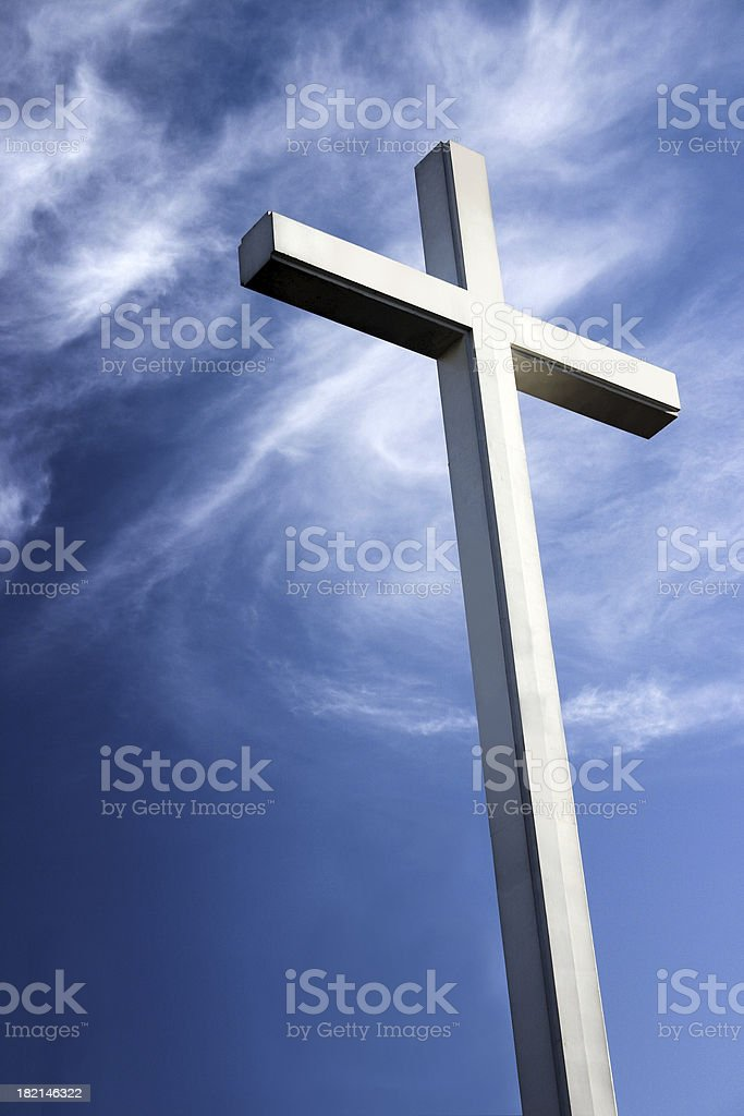 Chirstian Cross royalty-free stock photo