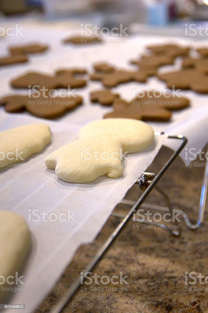 Chirstmas Cookies stock photo