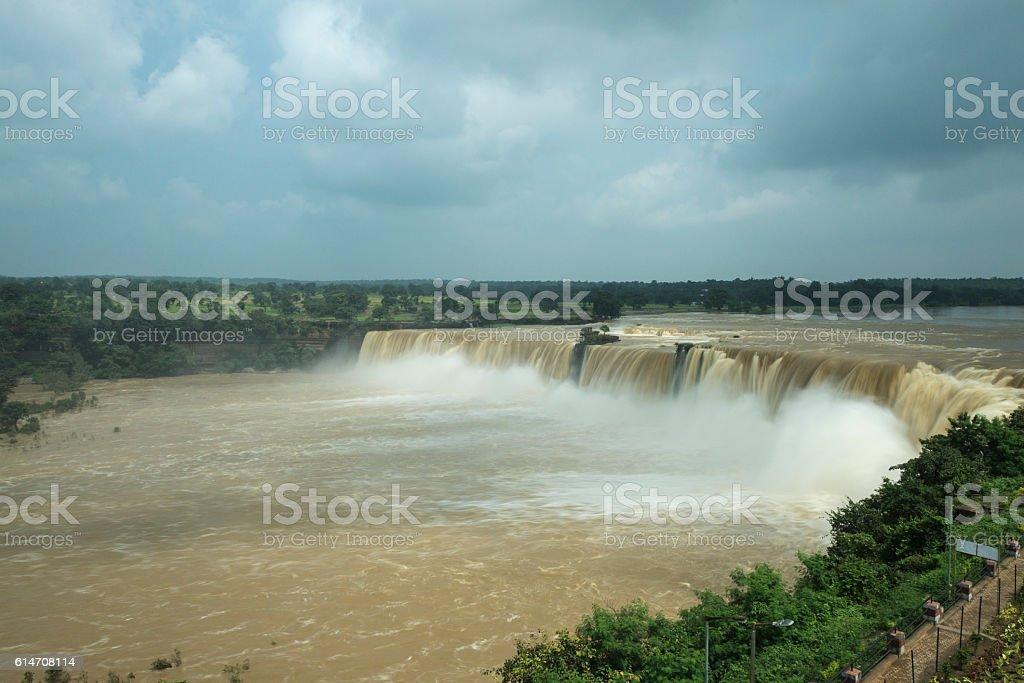 Chirtakote Waterfall stock photo