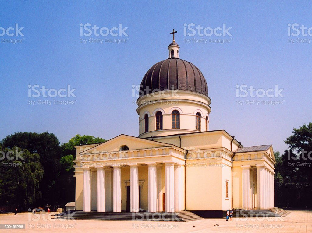 Chisinau, Moldova: Orthodox Cathedral stock photo