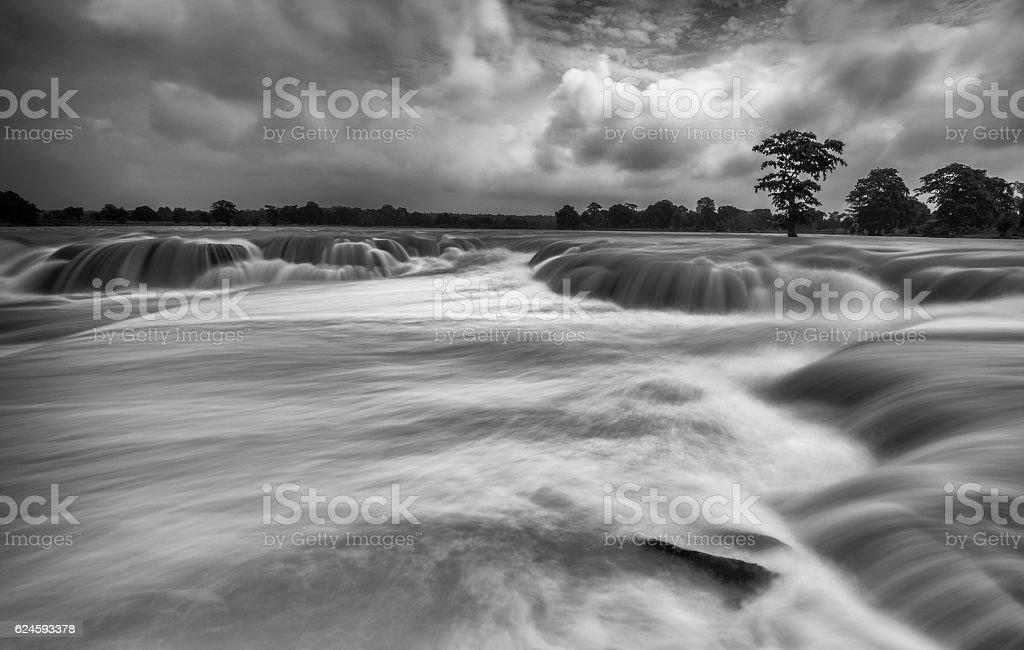 Chitrakote Waterfall stock photo