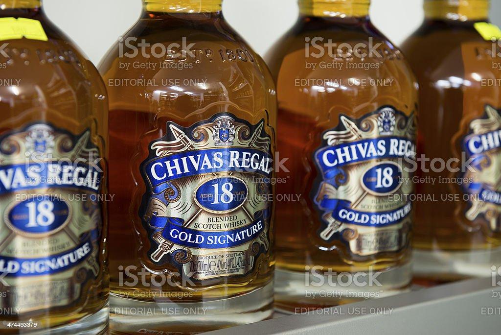 Chivas Regal Blended Scotch Whisky stock photo