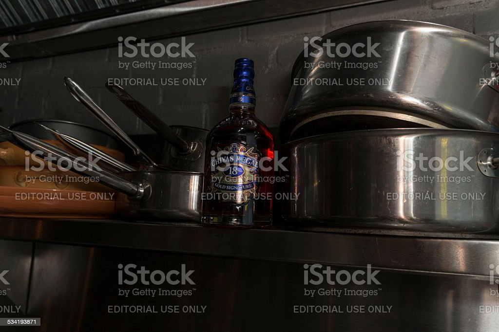 Chivas Regal stock photo