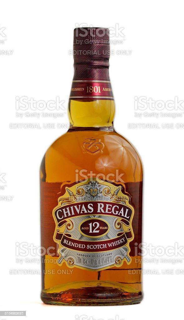 Chivas Regal scotch whisky stock photo