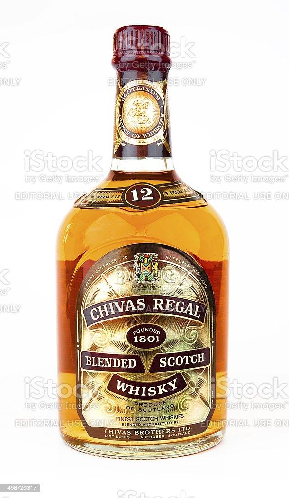 Chivas regal whiskey stock photo