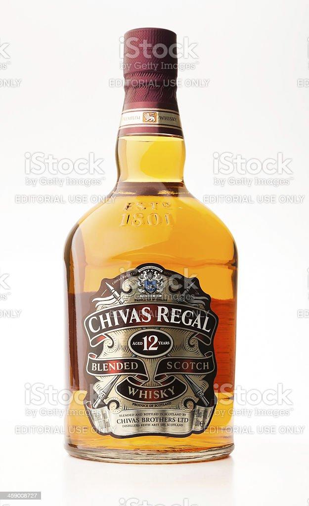 Chivas Regal Whisky stock photo