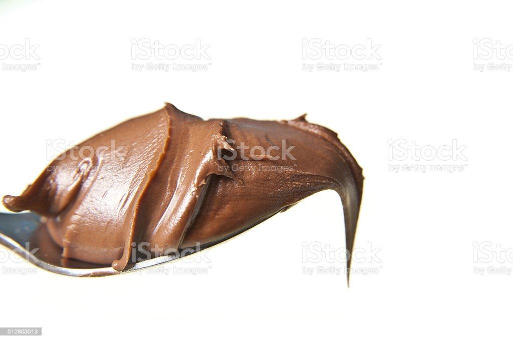 Choccolate ложка Стоковые фото Стоковая фотография