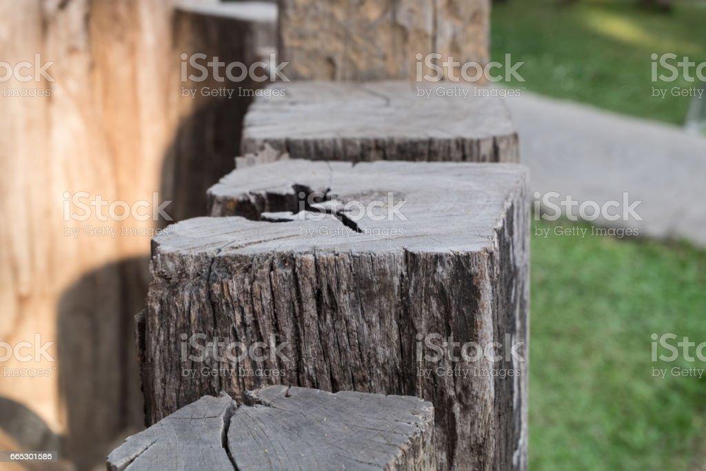 Chock wood. stock photo