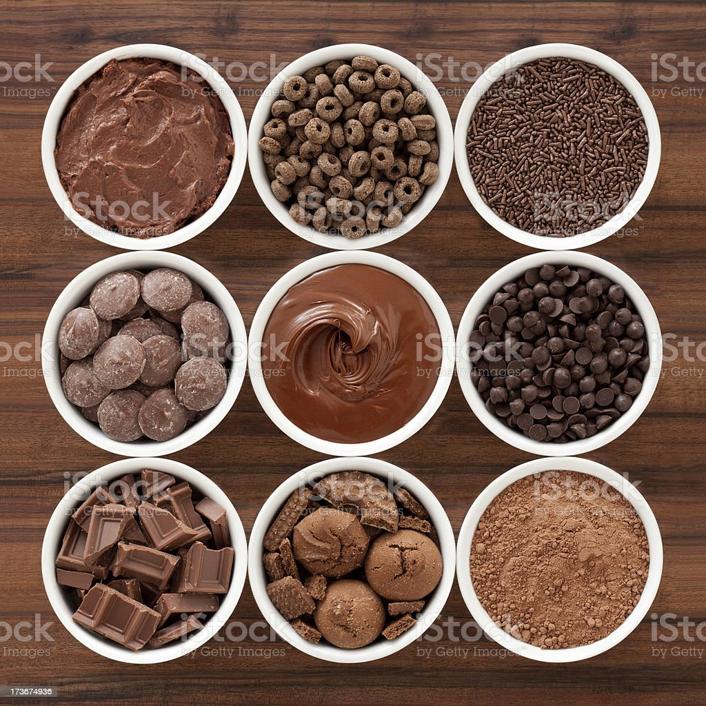 Choco stuff stock photo