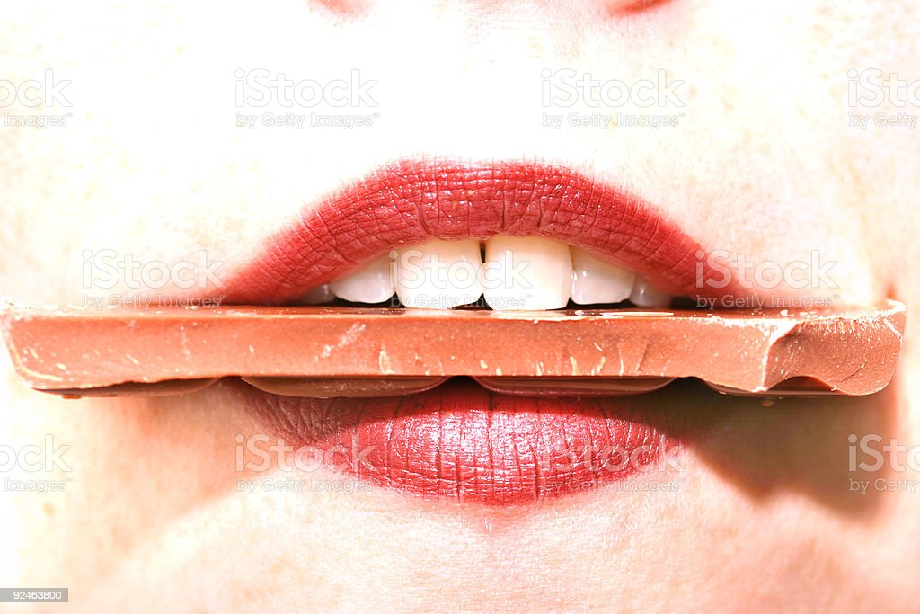 Chocolate addiction IV. royalty-free stock photo