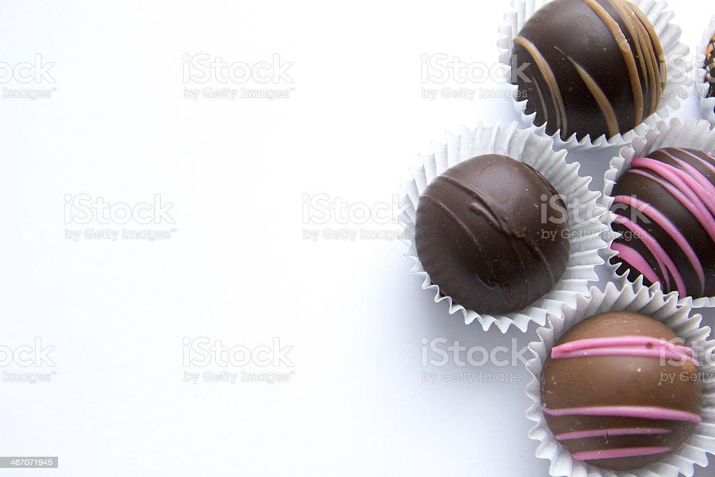 Chocolate Assortments_ 3 stock photo
