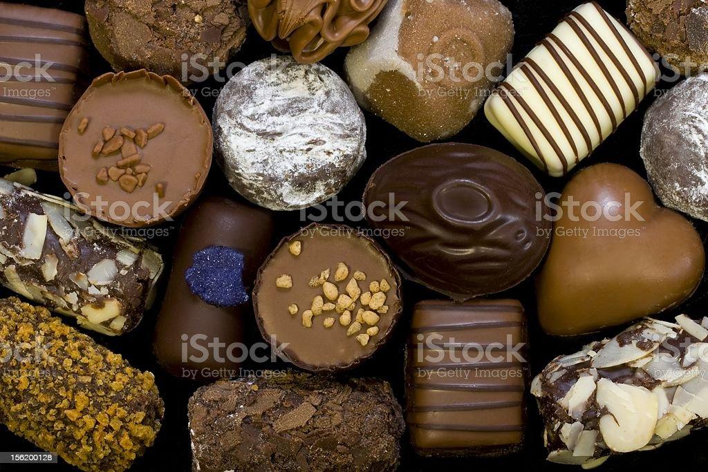 Chocolate background stock photo