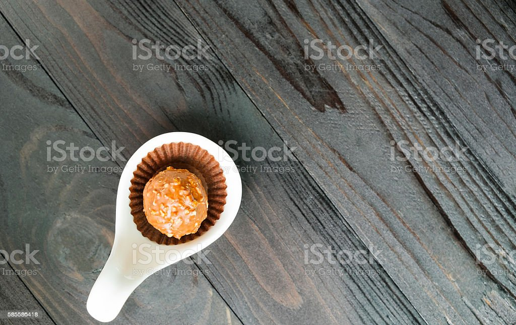 Schokoladen-Hintergrund  Lizenzfreies stock-foto